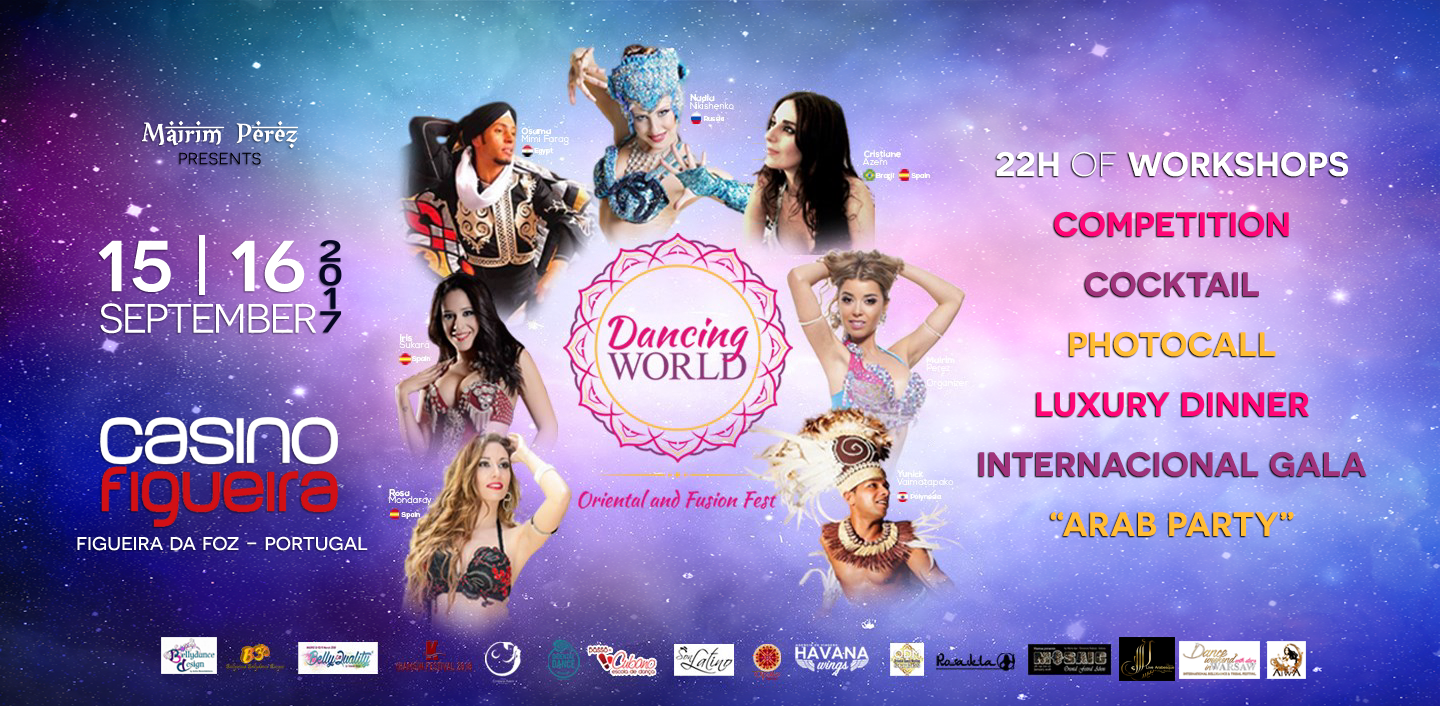 Dancing World - Oriental and Fusion Fest - 15 e16 de Setembro