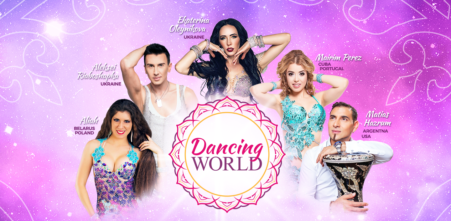 Dancing World - Oriental and Fusion Fest, September 22nd and 23rd at Casino Figueira, Portugal