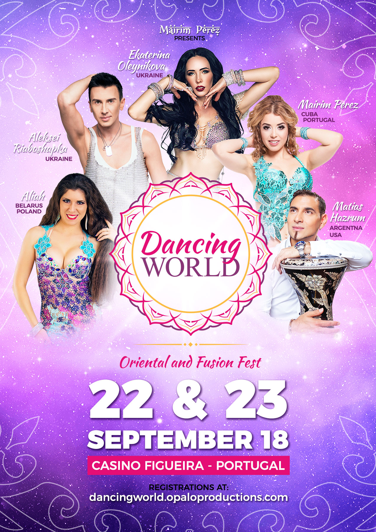 Dancing World -  Oriental and Fusion Fest 2018