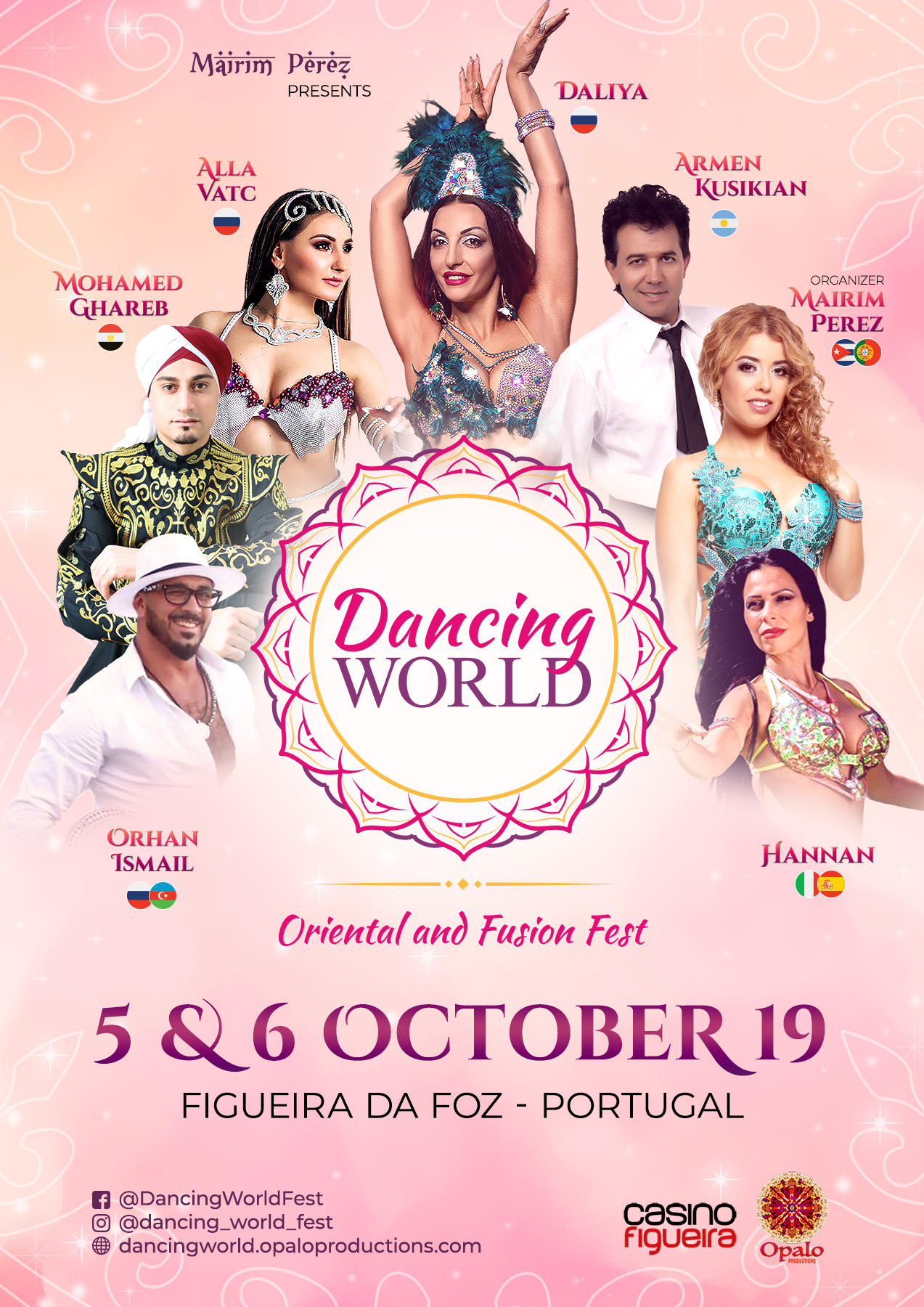 Dancing World -  Oriental and Fusion Fest 2019