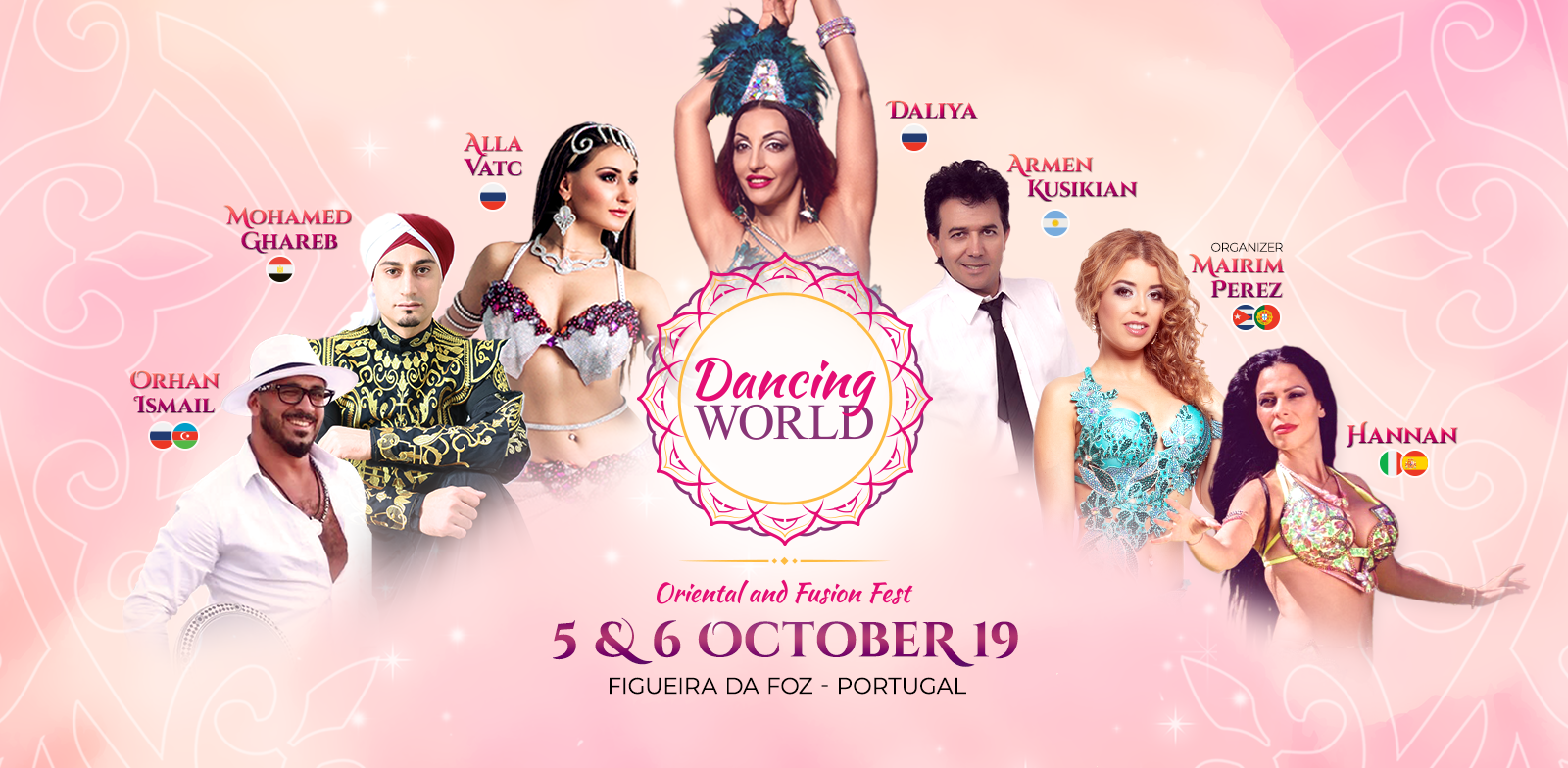 Dancing World - Oriental and Fusion Fest, 5 & 6 October 2019, Figueira da Foz - Portugal